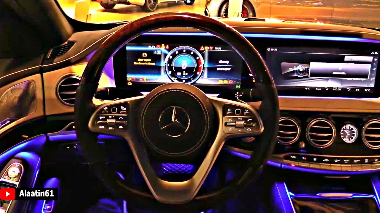 Mercedes Maybach S Class Long 2019 Interior Inside The Most Luxury