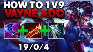 Vayne ADC Gameplay - The Best Vayne Build In Season 11 | League of Legends