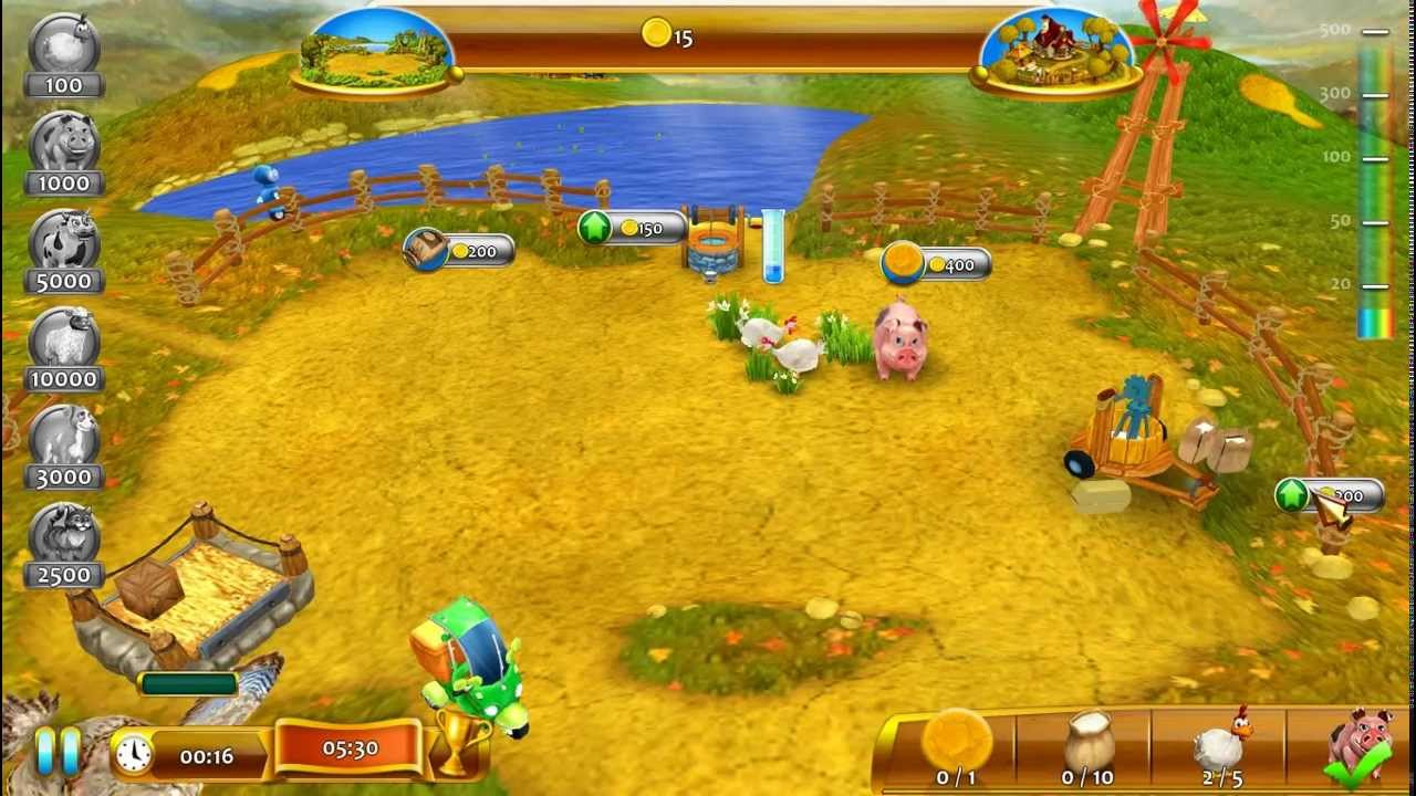 Farm Frenzy 4 (Gameplay) HD