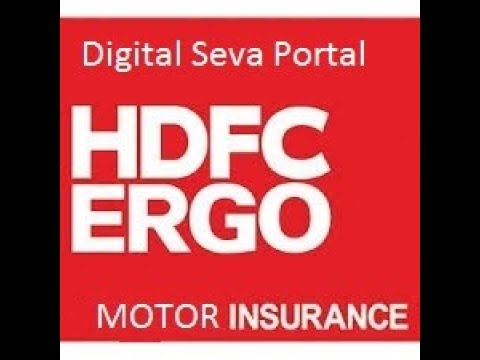 Third Party Vehicle Insurance(HDFC ERGO) Through Digital Seva Portal | Priya Online Service |