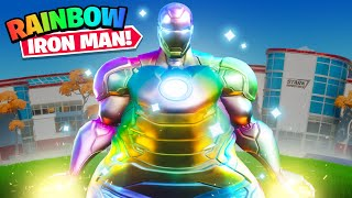 THICCEST RAINBOW IRON MAN IN FORTNITE