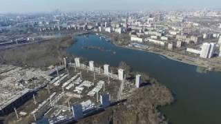 видео Парк развлечений Остров мечты в Нагатинской пойме 2017. Когда откроется Диснейленд в Москве.