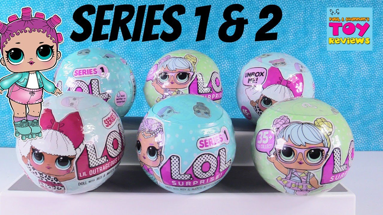 Lol Surprise Doll Opening Series 1 Amp 2 Color Change Cries
