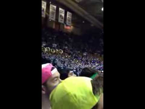 Fight! Blue Devils, Fight! Duke vs UNC 2014