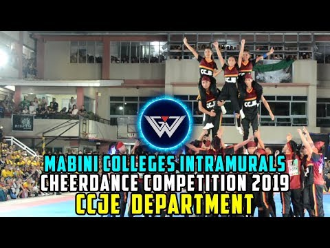 Mabini Colleges Intramurals 2019 | CCJE KNIGHTS | Cheerdance Competition 2019 || Coverage 4