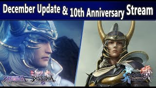 December Update / 10th Anniversary Stream - Dissidia Final Fantasy NT / Arcade
