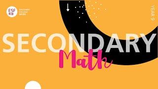 Year 9 Math