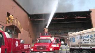 Incendio Merco Monclova 20 de mayo 2011