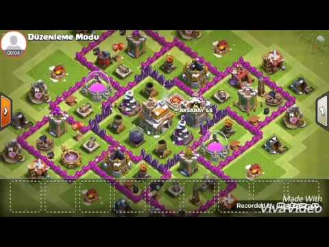 CoC Town Hall 7 Village Edit Mode