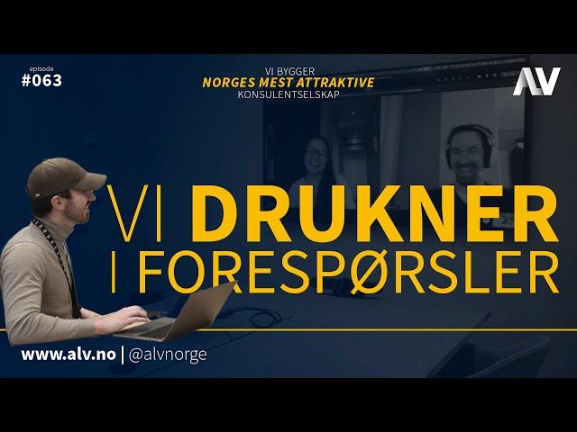 VI DRUKNER I FORESPØRSLER |ALV#063