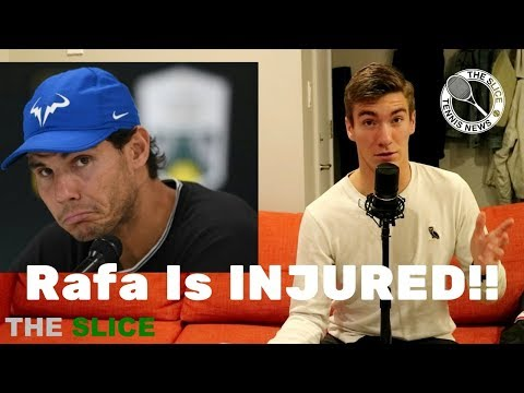 RAFA Withdraws from World Tour Finals | THE SLICE