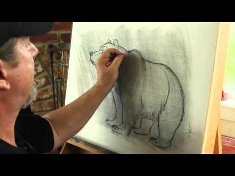 Learn How To Draw A Bear From A Pro