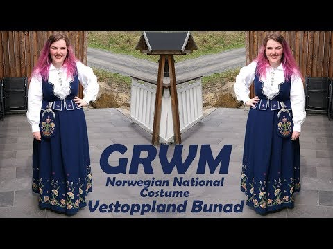 GRWM My Bunad | Norwegian National Costume