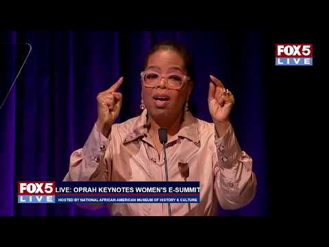 FOX 5 LIVE (6/7): Oprah keynotes Women's E-3 Summit hosted by NMAAHC; security for Caps Game 5
