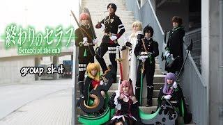 Owari no Seraph cosplay group skit Love Anime! 2016