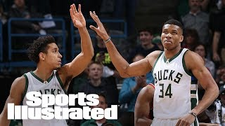 Bucks Malcolm Brogdon On Giannis Antetokounmpo As MVP & Jabari Parker | SI NOW | Sports Illustrated
