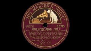 """""""Wir marschieren"""" [Potpourri] London Palladium Orchestra 1935"""