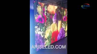 Multi purpose floor tile LED display can be used to rent LED display on stage,Super Thin Portable St