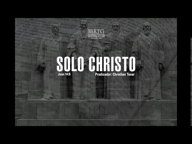 Solo Cristo | Christian Tovar