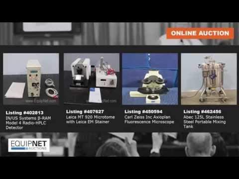 AUCTION: Lab & Pharma Equipment!