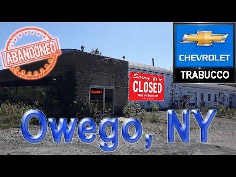 Abandoned Post Apocalyptic Chevy Dealership - (Defunct) Joe Trabucco Chevrolet | Owego, NY