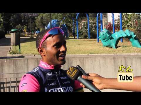 Interview with Ethiopia's Cyclist Tsigabu Tsigabu Gebremariam Girmay
