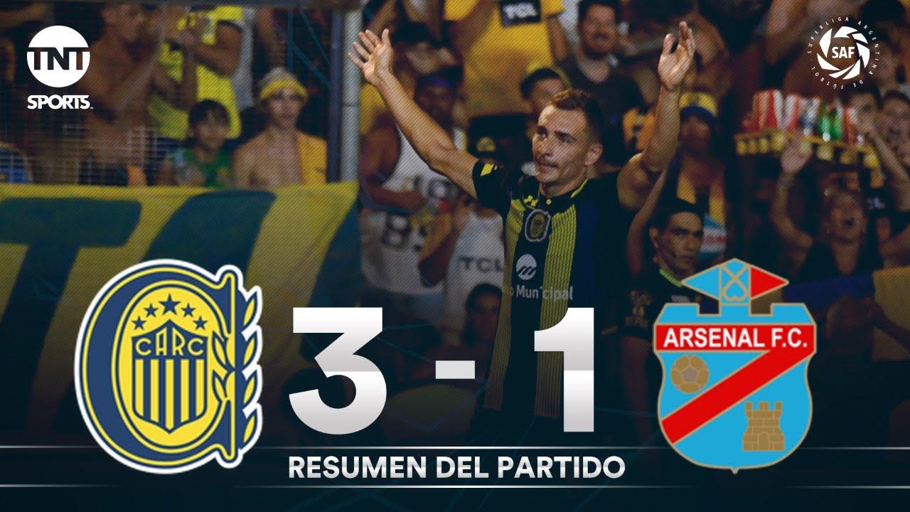 Resumen de Rosario Central vs Arsenal (3-1)   Fecha 22 - Superliga Argentina 2019/2020