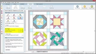 Rotate Fabric in a Quilt in EQ8