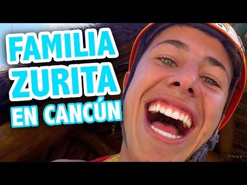 FAMILIA ZURITA EN CANCÚN  Juanpa Zurita