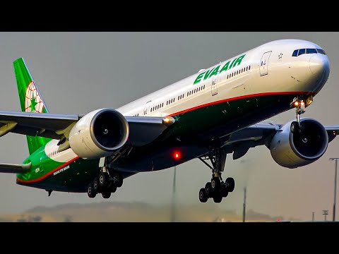 60 Minutes of MASSIVE of PLANE SPOTTING | A380 B777 A350 B747 | Melbourne Airport Plane Spotting