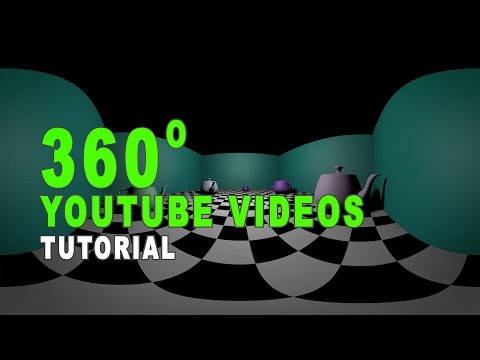 How To Create 360 Virtual Reality YouTube Videos