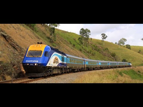 Adventures on the NSW XPT Train from Broadmeadow to Brisbane   July 2018