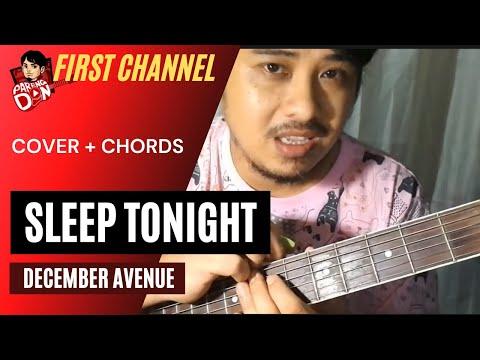 Guitar Chords: December Avenue: Sleep Tonight OPM guitar tutorial Karaoke Chords