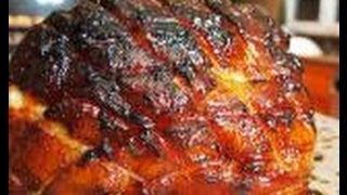 Smoked Ham Recipe (peach Brandy Glaze)