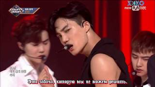 (РУСС  САБ) 170720 EXO  - The Eve M COUNTDOWN