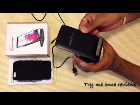 BestFire T-900 Wireless Charging Dock & iPhone 6 Wireless Charging Case - Review