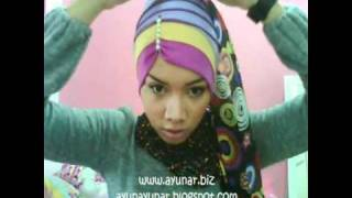 how to wear hijab tutorial by inner ayunar with dianne clip with headband