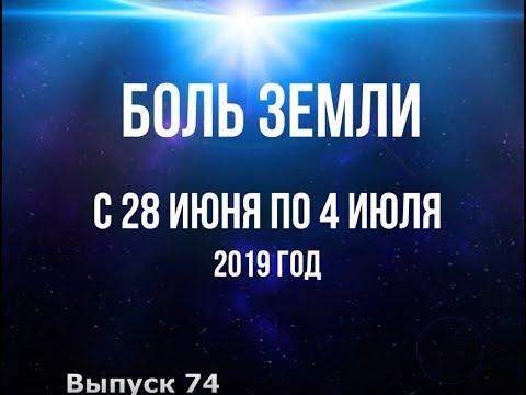 Катаклизмы за неделю с 28 июня по 4 июля 2019 г