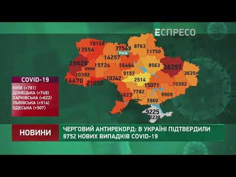 Коронавирус в Украине: статистика за 31 октября