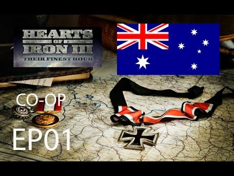 Hearts of Iron III COOP Australia and Canada EP01