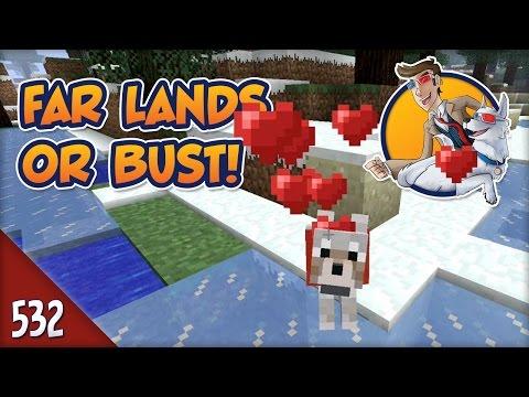 Minecraft Far Lands or Bust - #532 - Wolfie's 500th Episode!