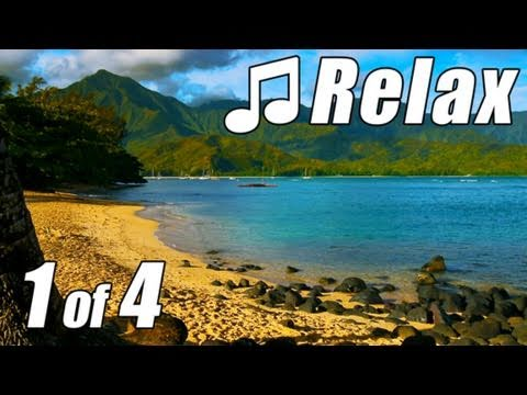 HAWAIIAN MUSIC #1 Instrumental HD KAUAI BEACHES Relaxing Hawaii Songs Luau Aloha Spa Musik ocean
