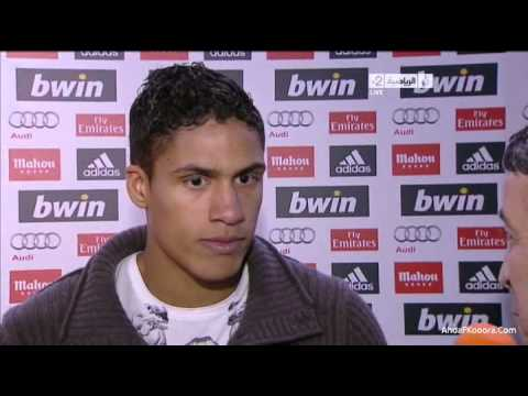 [Real Madrid vs Barcelona] 2012 - Raphael Varane Interview - JSC Sports
