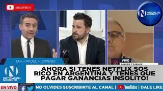 AHORA SI AHORRAS Y TENES NETFLIX , SOS RICO EN ARGENTINA Y TENES QUE PAGAR 35% MAS EN GANANCIAS!