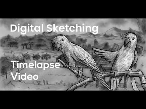 dikki-mikki-sketch-timelapse-video