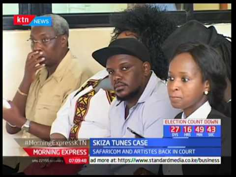 Safaricom and artistes back in court, Skiza tune case