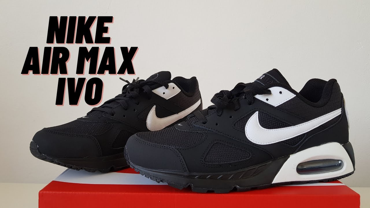 Nike Air Max IVO (Review and On Feet) | Black and White