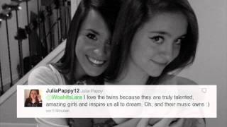 Why we love Megan & Liz ♥