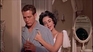 "Sexuality in the 1950s - ""Cat on a Hot Tin Roof"" - Elizabeth Taylor, Paul Newman"