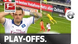 ► sub now: http://redirect.bundesliga.com/_bwbdcheck out the highlights of 0-0 draw in relegation play-off first leg between 16th-placed bundesliga s...